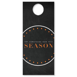Season Dots DoorHangers
