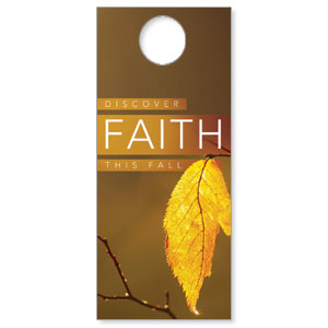 Fall Discover Faith DoorHangers