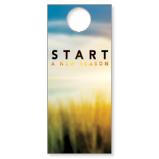 New Season Sunrise Door Hanger