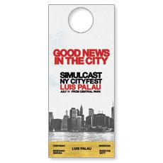 CityFest Door Hanger