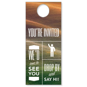 Phrases Welcome Door Hangers