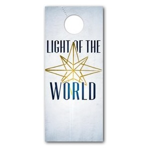 Light of the World Star DoorHangers