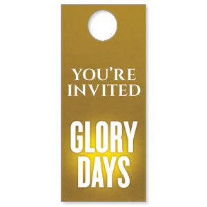 Glory Days Door Hangers