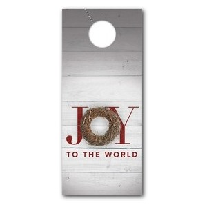 Joy Twig Wreath Door Hangers