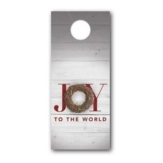Joy Twig Wreath Door Hanger