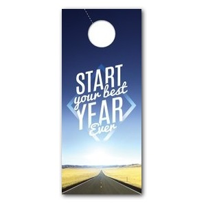 Best Year Ever Door Hangers