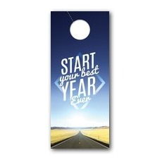 Best Year Ever Door Hanger