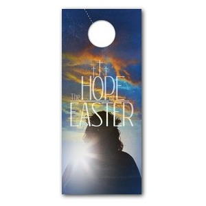 Hope of Easter DoorHangers