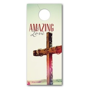 Amazing Love Cross Door Hangers