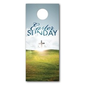 Easter Hillside DoorHangers