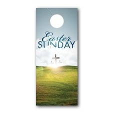 Easter Hillside Door Hanger