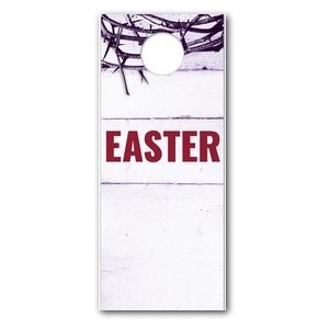Easter Crown of Thorns DoorHangers