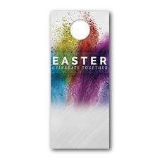 Easter Powder Paint Door Hanger