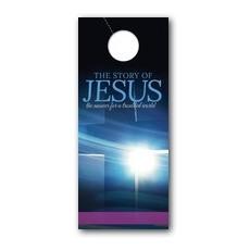 Story of Jesus Cross Door Hanger