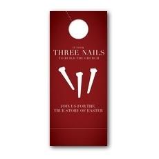 Three Nails Door Hanger