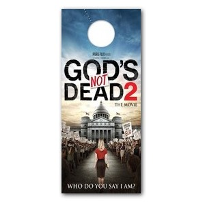 Gods Not Dead 2 Door Hangers