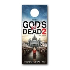 Gods Not Dead 2 Door Hanger