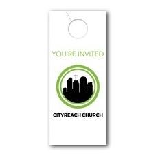 CityReach Door Hanger