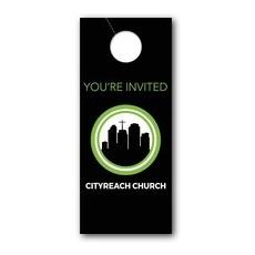 CityReach Black Door Hanger