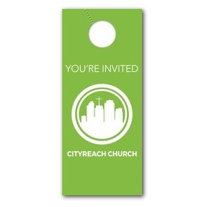 CityReach Green Door Hangers