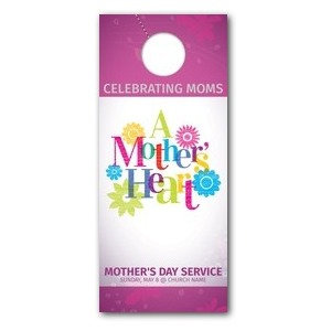A Mothers Heart DoorHangers