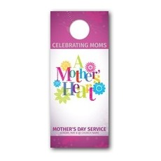 A Mothers Heart Door Hanger