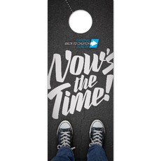 Back to Church Sunday: Nows the Time Door Hanger