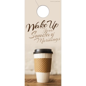 Coffee Invite Door Hangers