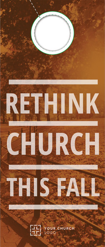 Rethink Church Door Hanger Church Invitations Outreach