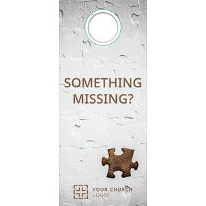 Something Missing Door Hangers