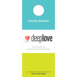 Deep Love Door Hangers