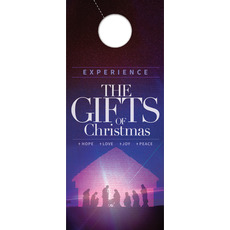 The Gifts of Christmas Advent Door Hanger