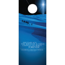 2000 Years Ago Door Hanger