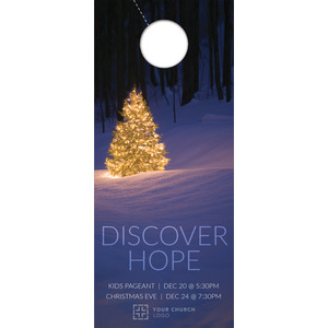 Discover Hope Bright Tree Door Hangers