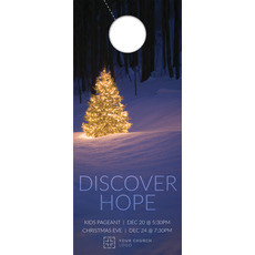 Discover Hope Bright Tree Door Hanger