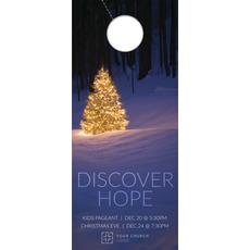 Discover Hope Bright Tree Door Hanger