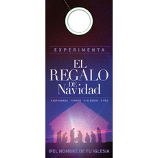The Gifts of Christmas Advent Spanish Door Hanger