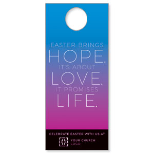Hope Love Life Door Hangers
