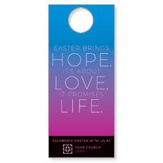 Hope Love Life Door Hanger