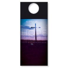 Hope Starts Here Door Hanger