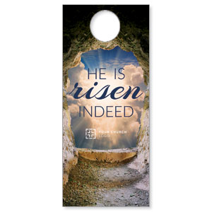Risen Open Tomb Door Hangers