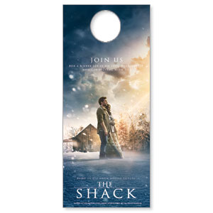 The Shack Movie Door Hangers