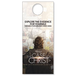 The Case for Christ Movie  Door Hangers