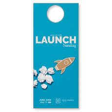Paper Rocket Launch