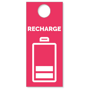 Recharge Door Hangers