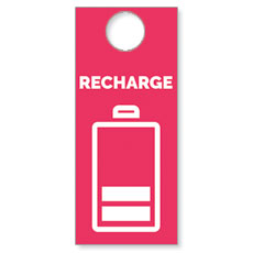 Recharge Door Hanger