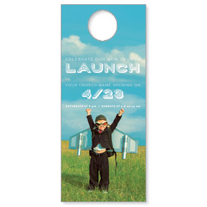 Rocket Kid Launch DoorHangers