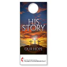 UMC His Story Our Hope Door Hanger