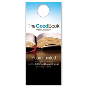 The Good Book Door Hangers