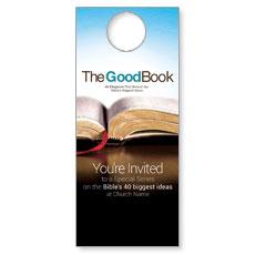 The Good Book Door Hanger